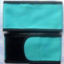 Plain Wrap Armband - Turquoise & Black